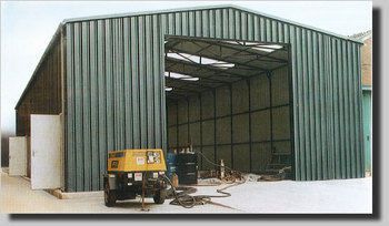 Trojan Extra Wide All-Steel Building