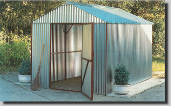 Avon All-Steel Storage Shed
