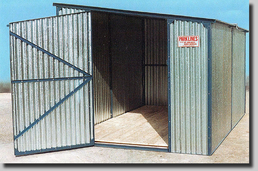 Trent All-Steel Heavy Duty Shed